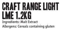 The Craft Range Brew Enhancer LME 1.2 Kg